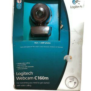 LOGITECH C160M Webcam Built-in Mic 1.3 MP Photos x